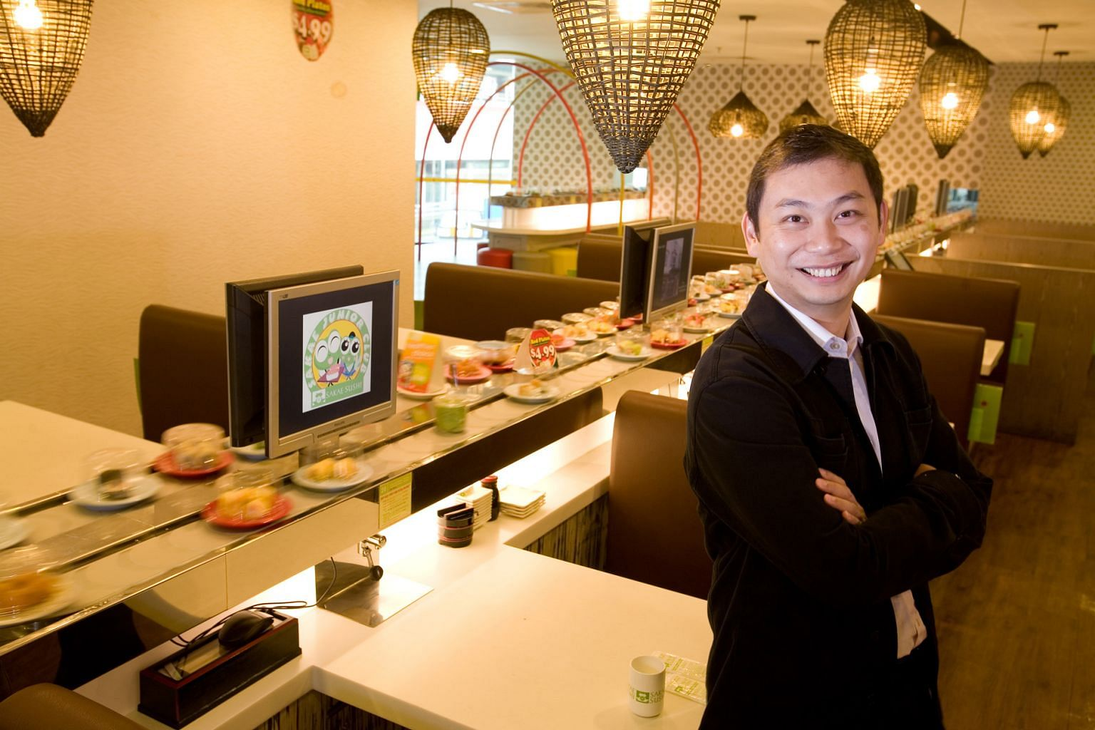 Mr Douglas Foo's vision for Sakae Sushi is a bold one - 30,000 outlets across five continents.