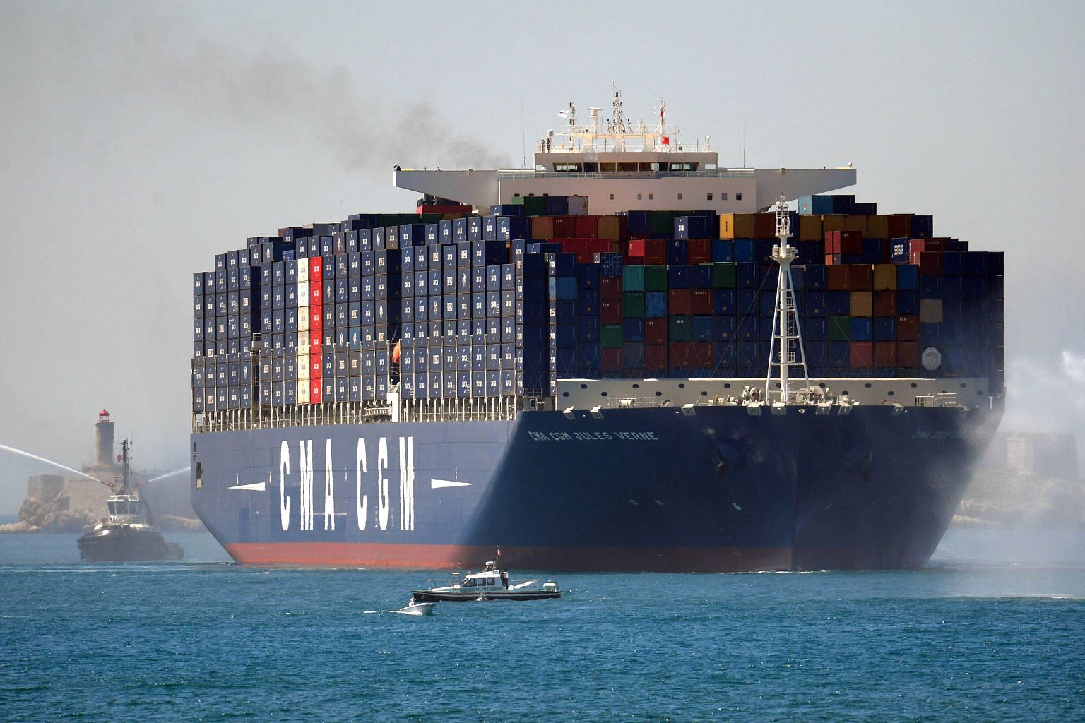 French shipping giant CMA CGM said that it plans to delist NOL. It needs more than 90 per cent of shares in order to do so.
