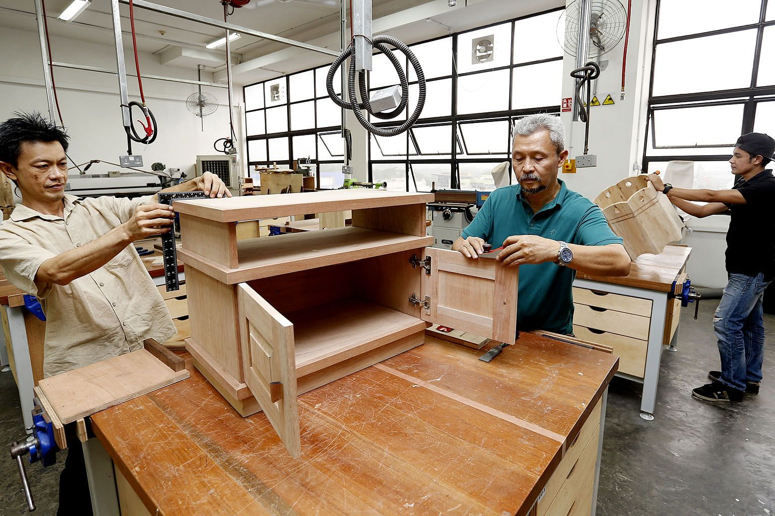 The Singapore Furniture Industries Council will offer a range of training programmes. Course fees will be fully borne by the employers, with funding support from the National Trades Union Congress' e2i and the Singapore Workforce Development Agency.