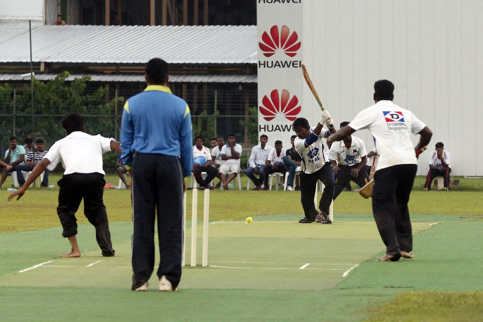 The Scal Cricket Challenge Cup event was held at the Scal Recreation Centre yesterday and on Sunday.
