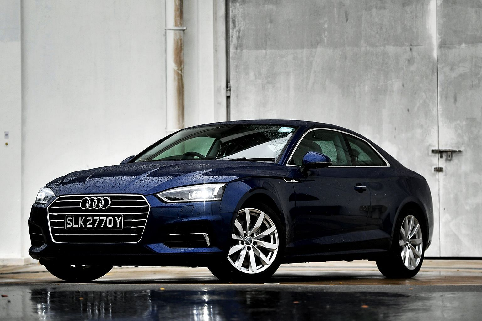 The Audi A5 Coupe 2.0 is a relaxed and comfortable grand tourer, with uncommon efficiency.