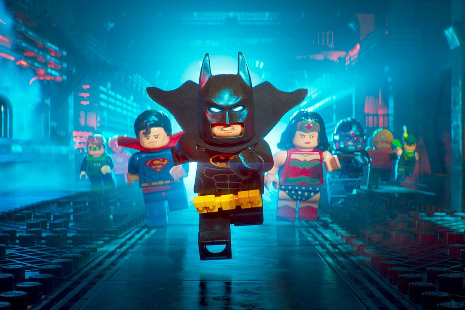 The Lego Batman Movie shows Gotham's hero being plunged into an existential crisis when Joker unexpectedly surrenders to the police. Zach Galifianakis (left) voices Joker and Will Arnett voices Batman in The Lego Batman Movie.