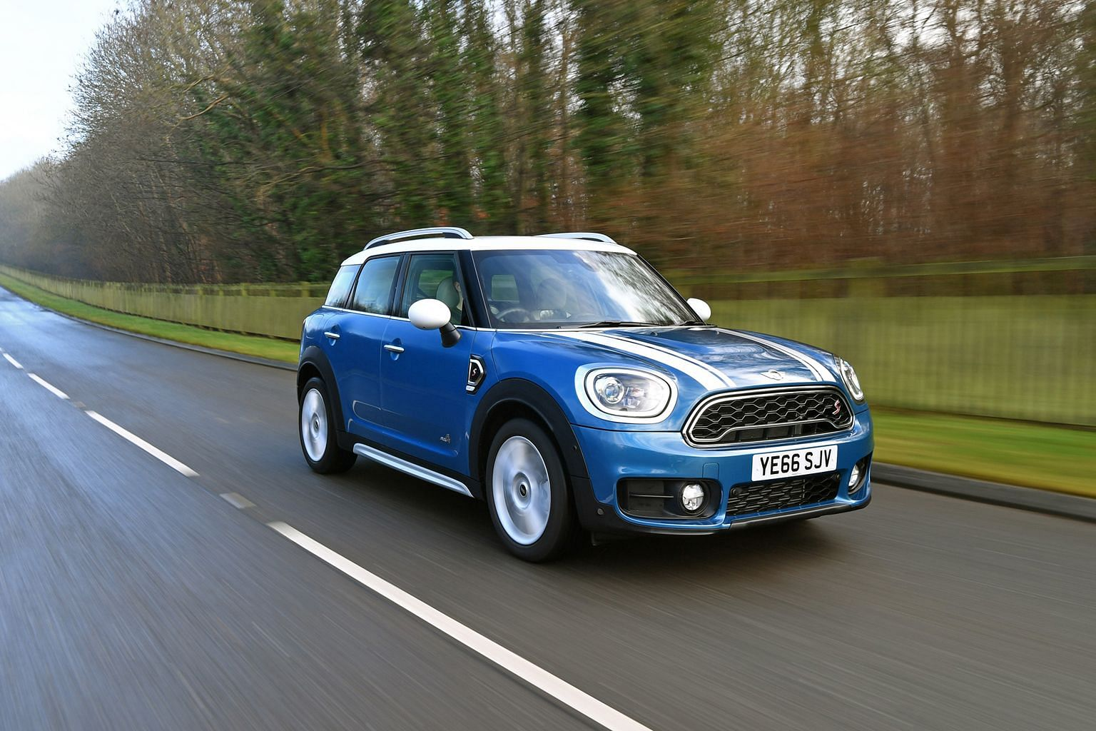 The Mini Countryman Cooper S All4 is a full five-door, five-seater crossover.