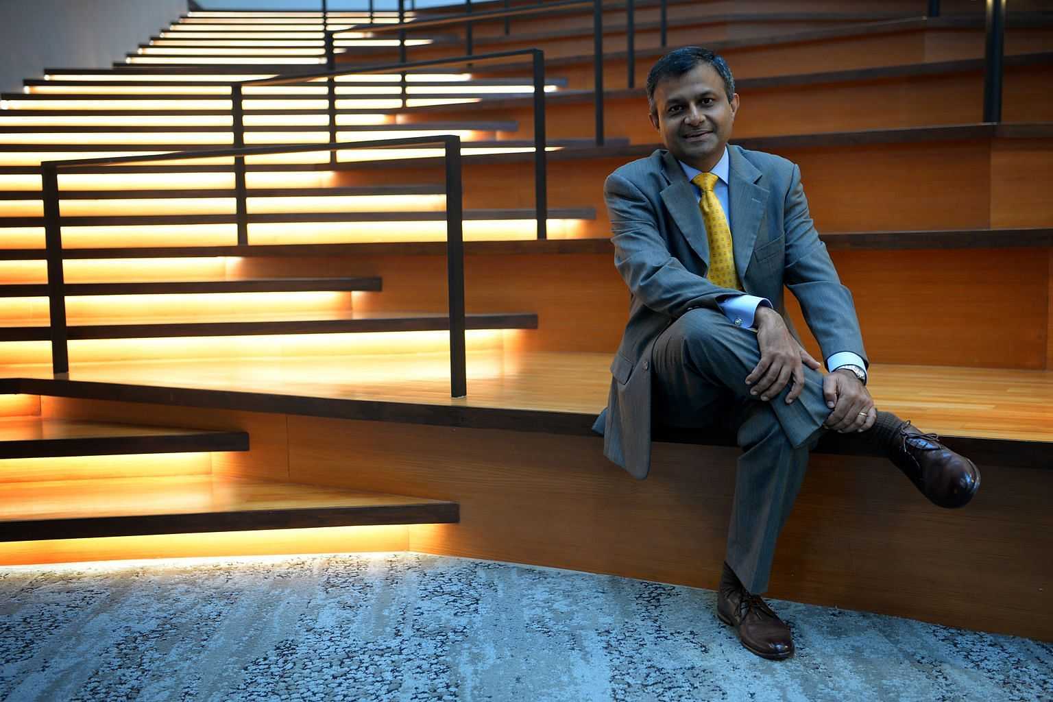 Mr Srikanth Nott, general manager for personal health at Philips Asean Pacific, is a 15-year veteran at Philips who was formerly a consultant at PwC. He has taken different roles in Philips, managing the lighting and healthcare business for the last
