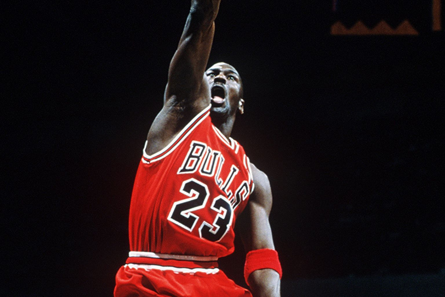 """While most basketball fans know Michael Jordan's """"Air"""" nickname, what was lesser known was his shared moniker with his basketball hero, Earvin """"Magic"""" Johnson."""