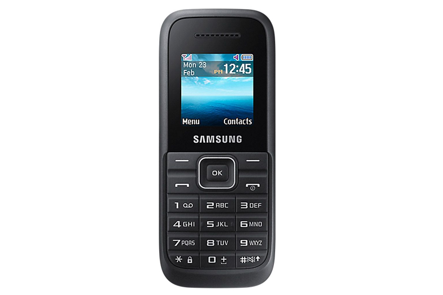 At $68, the Samsung Keystone 3 (B109H) is the cheapest phone in this roundup.