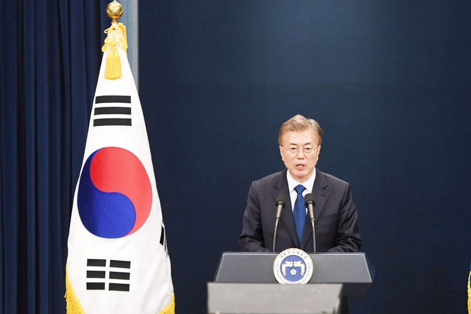 South Korea's President-elect Moon Jae In will take office at a time of heightened tensions with North Korea. In realising his liberal dream of national unification, he will have to keep an eye on geopolitical realities as well.