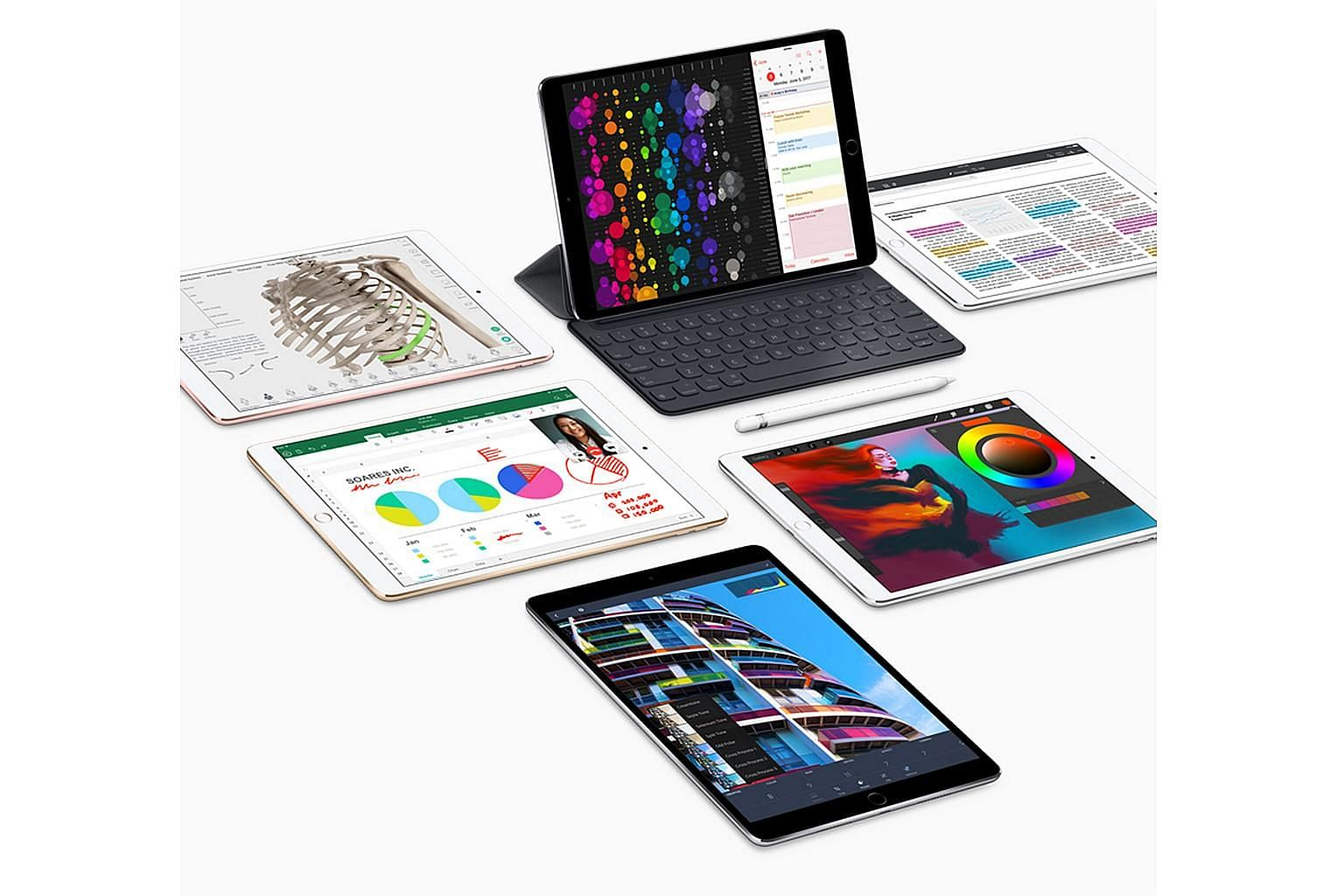 Whether it is swiping, playing games or sketching on ProCreate, screen response on the 10.5-inch iPad Pro is much smoother than previous iPads.