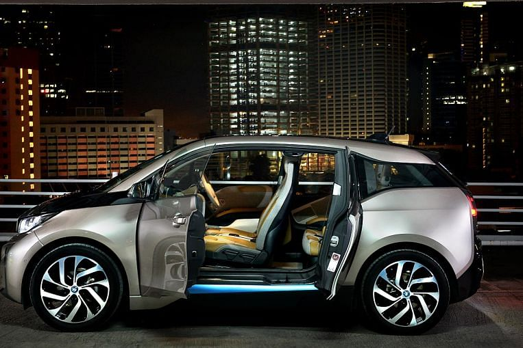 Winner Of 2014 S St Car Of The Year Is Bmw S First Electric Car The