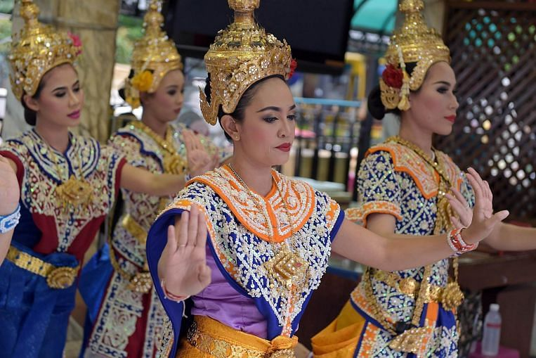 Image result for erawan shrine dance times