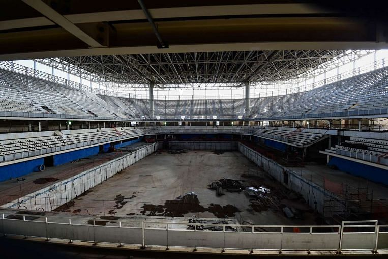 Rio Olympics Chiefs Say Pool Sea Concerns Being Resolved Sport News Top  Stories The Straits Times