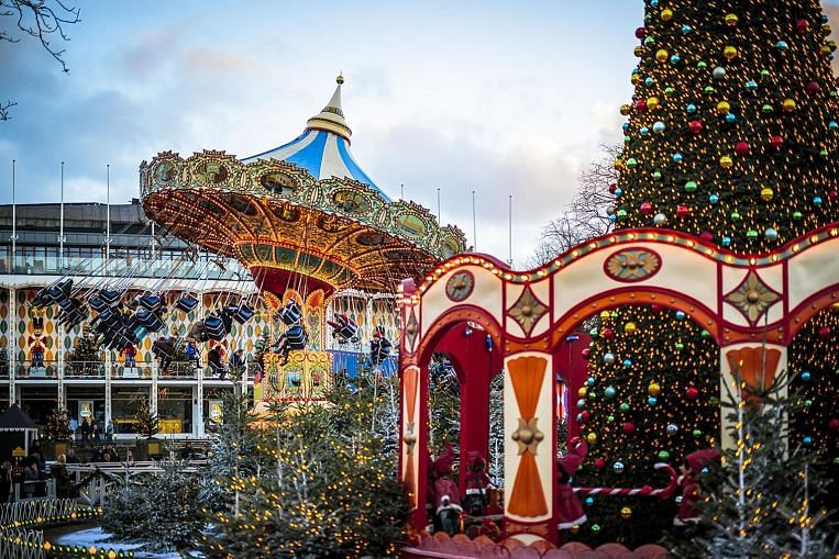 tivoli gardens copenhagen 39 s christmas wonderland travel news top stories the straits times. Black Bedroom Furniture Sets. Home Design Ideas