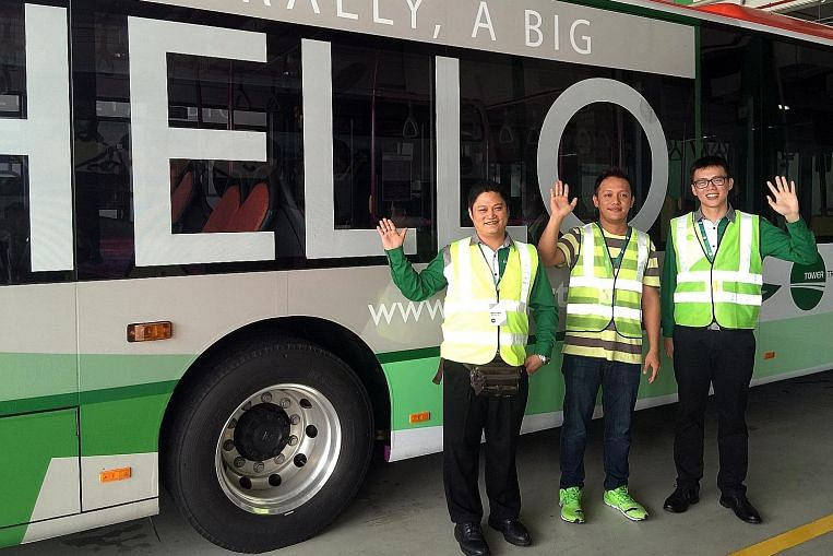 Three in 4 of new bus firm's drivers are S'poreans, PRs