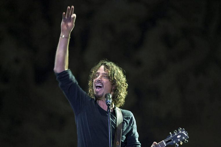 chris cornell s finest moments entertainment news top stories the straits times