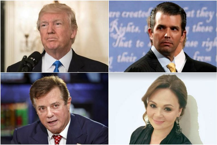 Who's who in the stunning Russia-conspiracy e-mails released by Donald Trump Jr