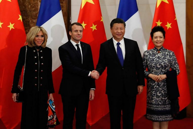 In Pictures French President Emmanuel Macron S Official Visit To China Photos News Top Stories The Straits Times