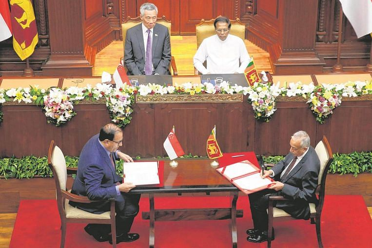 Singapore Sri Lanka Free Trade Agreement Credit Positive For Both