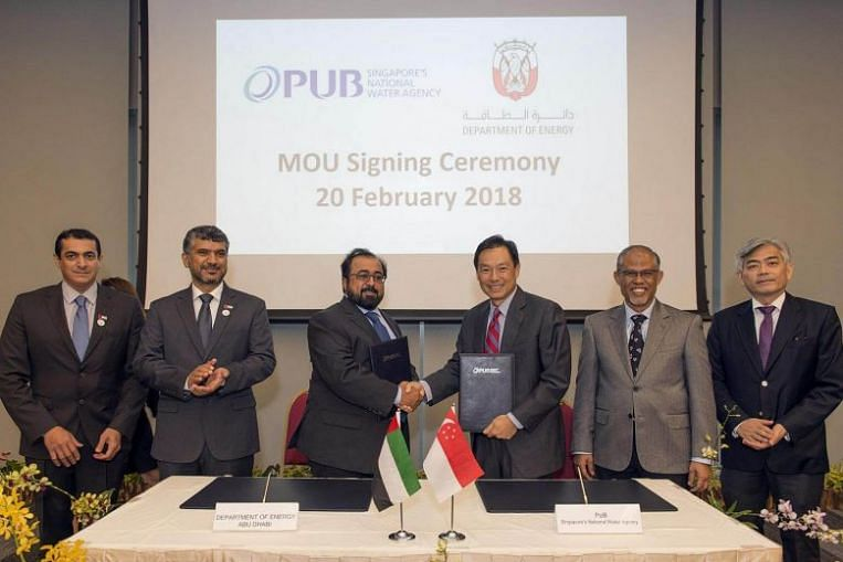 Singapore, Abu Dhabi join hands on smart utilities solutions