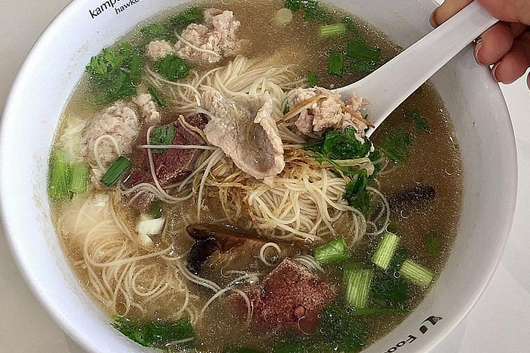 Cheap & Good: Hearty mee sua for the soul in Woodlands