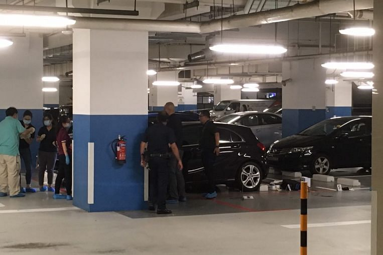 Woman found dead, man injured in ITE College Central campus carpark