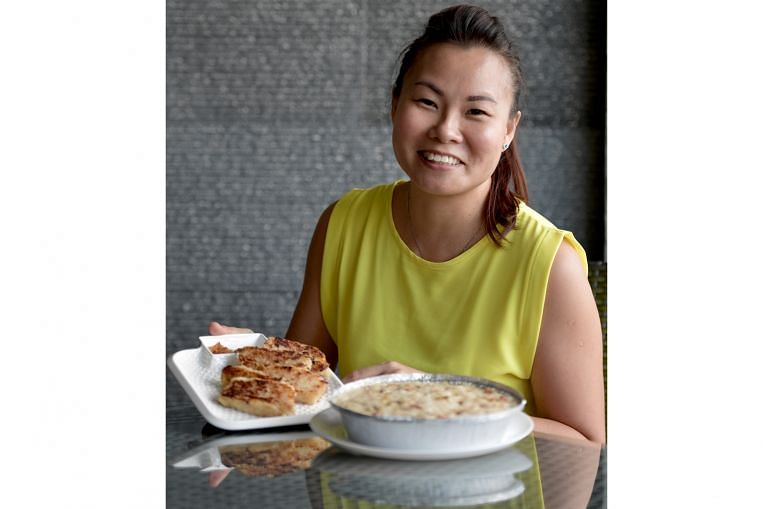 Cooking Is In Her Genes Recipe For Hong Kong Style Radish Cake