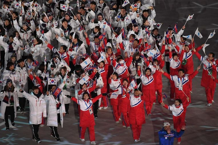 olympics two koreas and ioc plot tokyo 2020 joint team. Black Bedroom Furniture Sets. Home Design Ideas