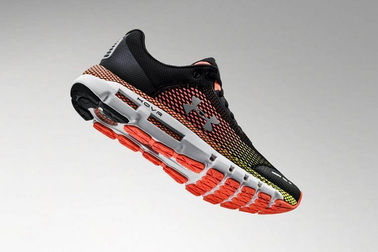 b595a914fae8b0 Tech review  Under Armour Hovr Infinite does double duty as smart running  shoes Feb 12