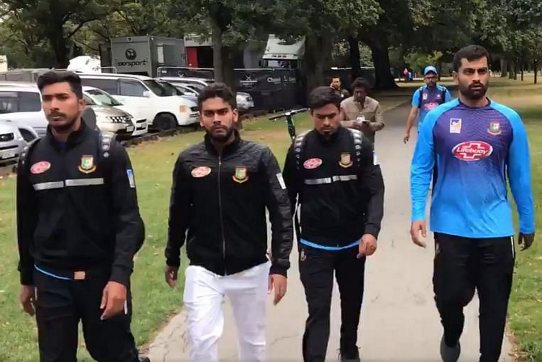 Christchurch Shooting Picture: Christchurch Shooting: 'Extremely Lucky' Bangladesh