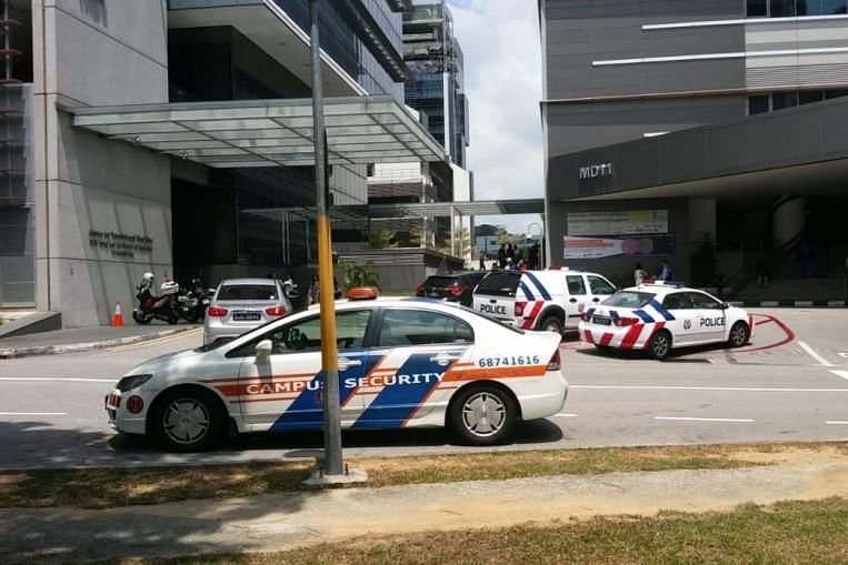 1,000 people evacuated after fire breaks out in NUS medicine building