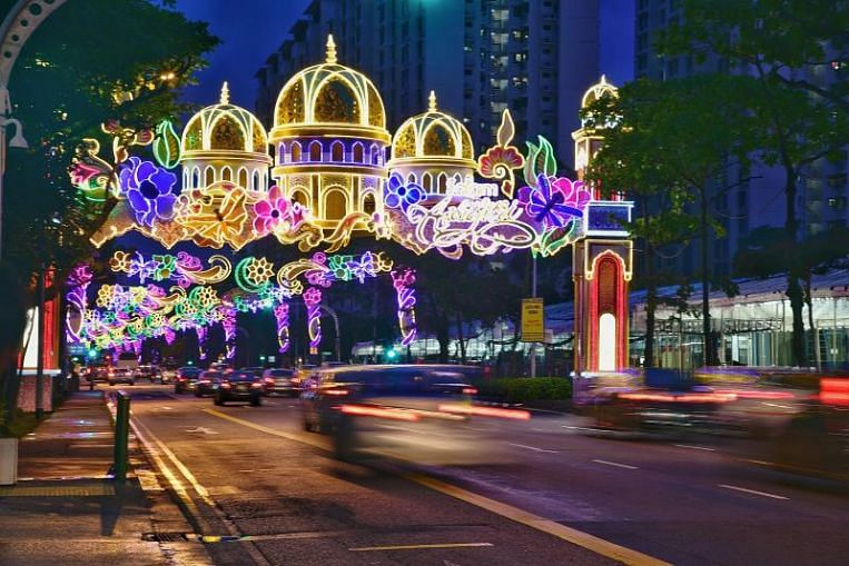 Geylang Serai to be awash in festive lights and colourful