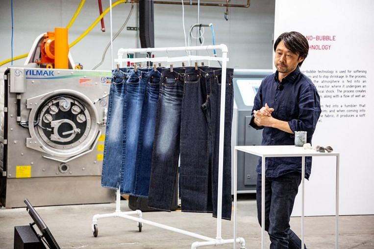 Uniqlo's parent company comes up with greener way to make jeans