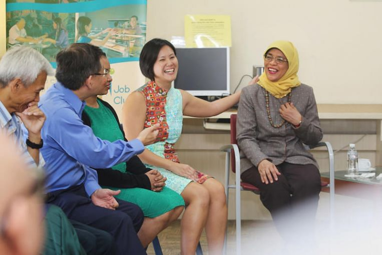 Employers should offer more 'quality jobs' to those with mental health issues: Halimah