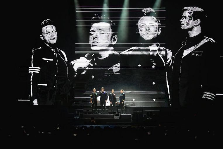 Concert review: Karaoke singalongs and slick moves at Westlife Twenty Tour Singapore stop