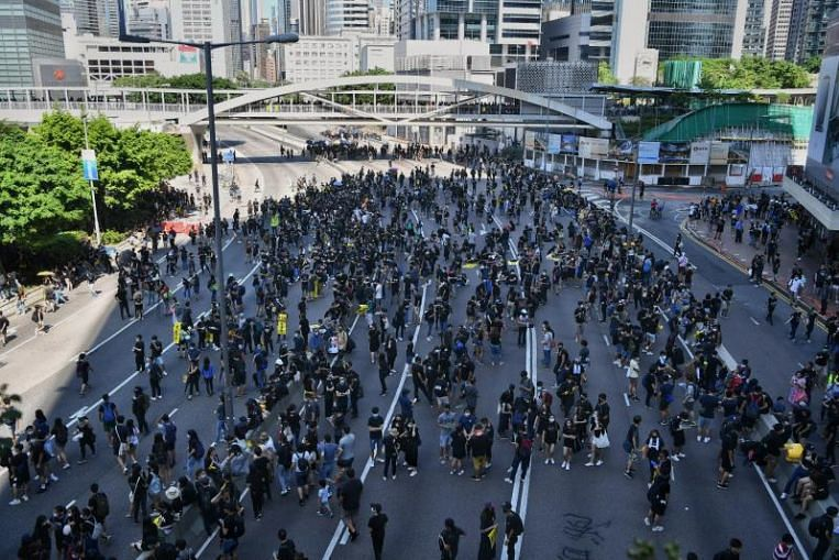 Hong Kong's protesters mostly young, university-educated and angry: Survey