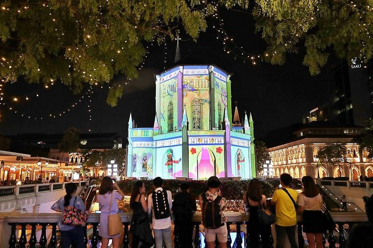 Bright lights, big city: 10 things to look out for at the Singapore Night Festival