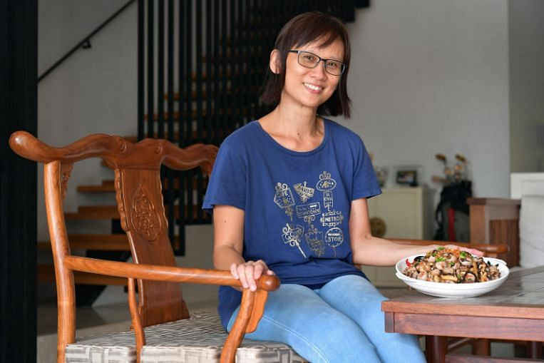 Singapore Cooks: She hopes her children will learn to make Hakka abacus seeds
