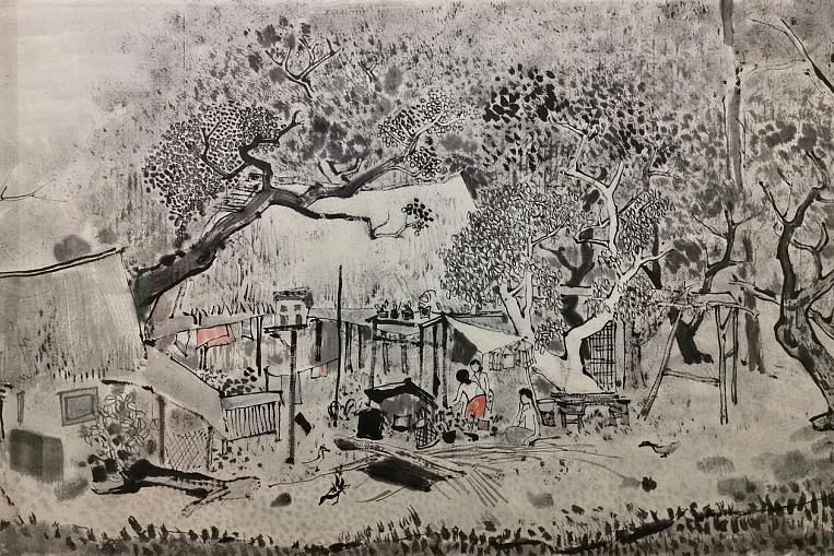 Cheong Soo Pieng's late ink works go on show