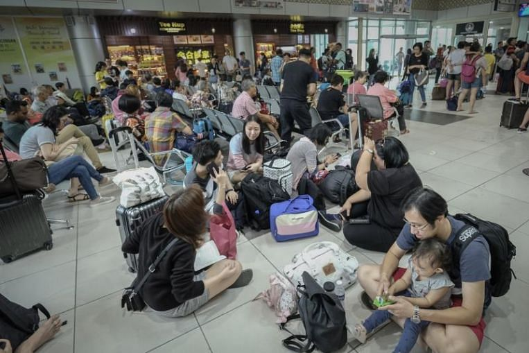 Ipoh cancels flights to Singapore and Johor due to haze, leaving over 500 passengers stranded