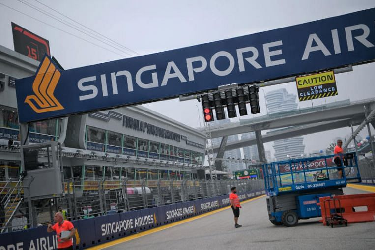 SIA extends title sponsorship of F1 Singapore Grand Prix for 2 years till 2021