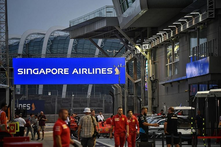 SIA extends Singapore F1 race title sponsorship to 2021