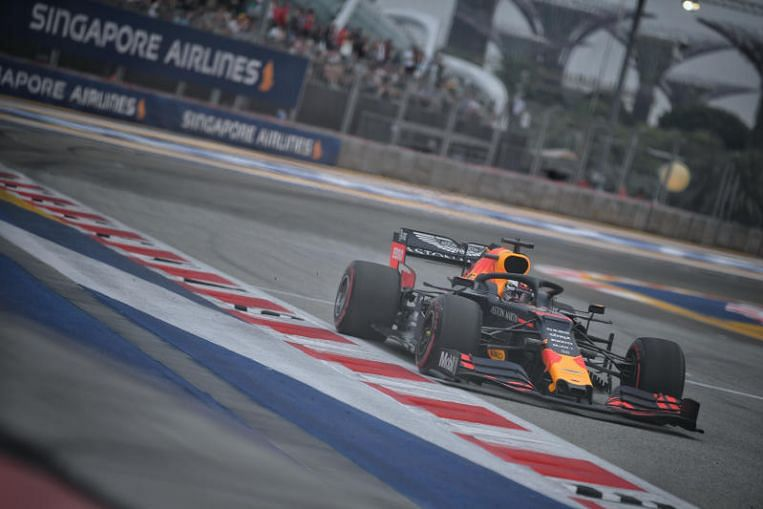 Formula One: Red Bull's Max Verstappen fastest in first Singapore practice