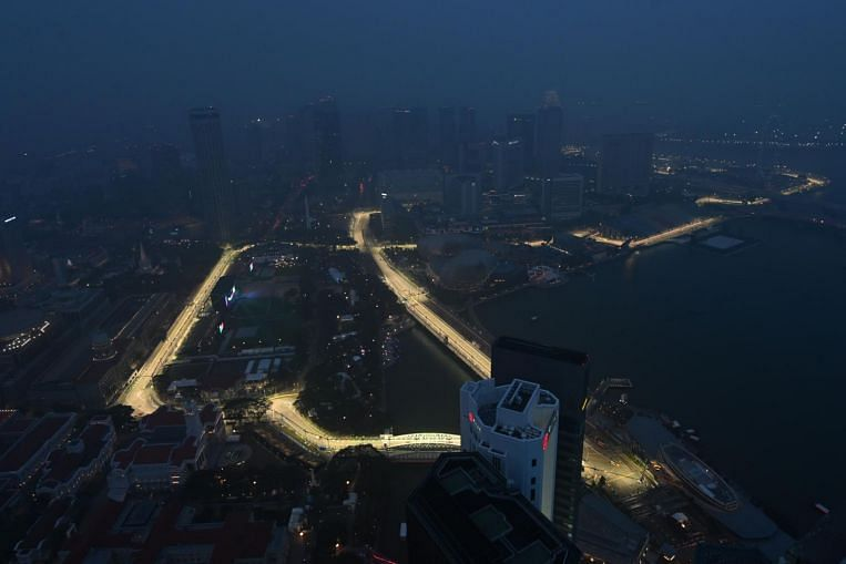 F1 looks set to rev off to clear skies, but haze could still cloud the weekend