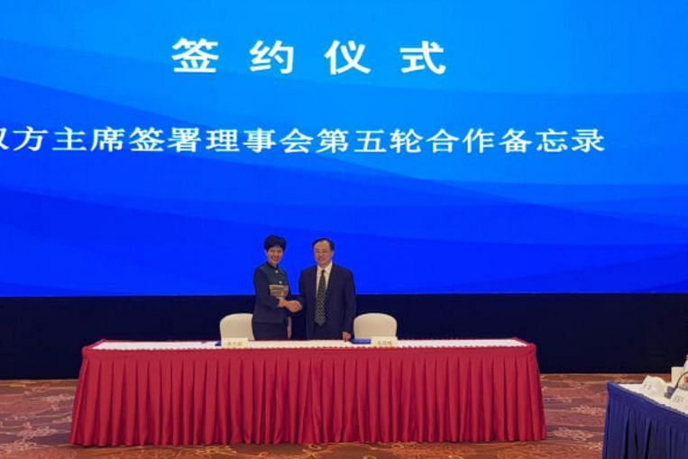 Singapore and China ink 16 deals in eastern Jiangsu province