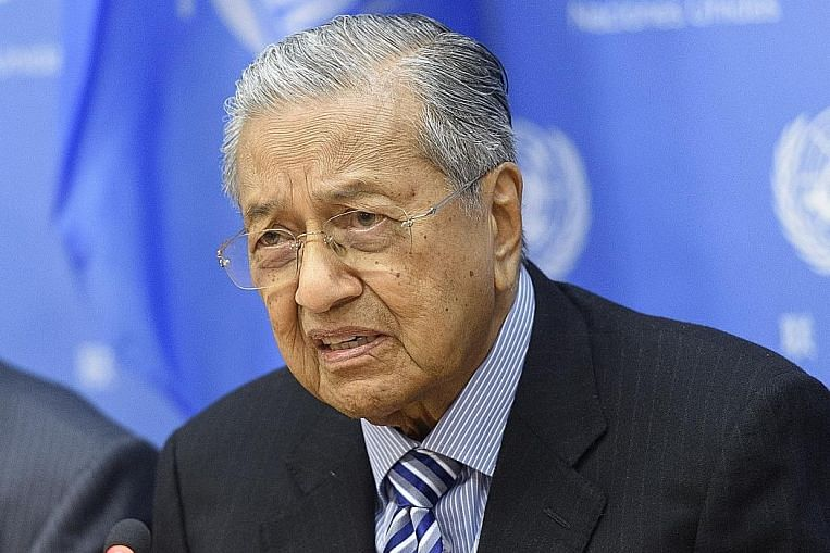 Curbs on sanctions needed: Mahathir