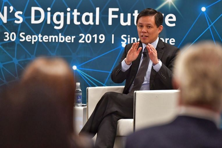 Fragmentation of tech, capital market systems in trade war will lead to lower growth: Chan Chun Sing