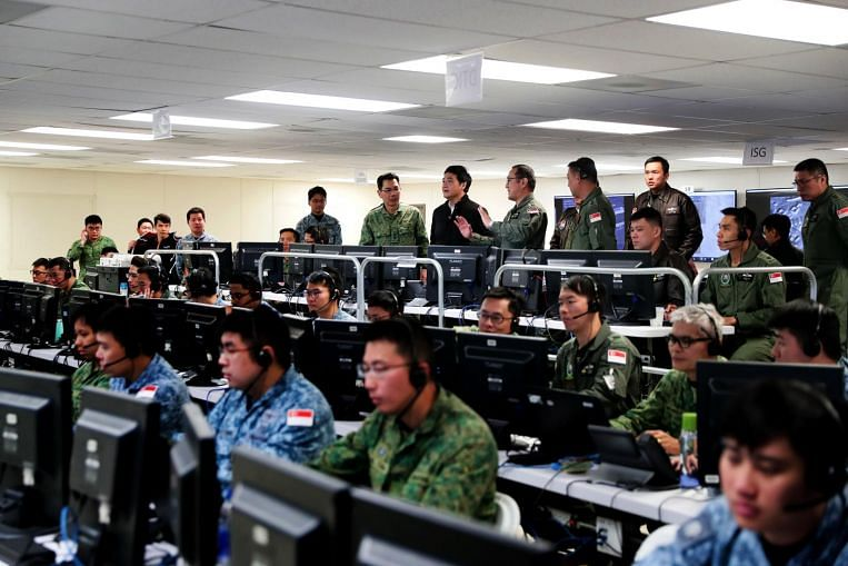 SAF command post at Ex Forging Sabre enhanced with AI for more effective strike missions