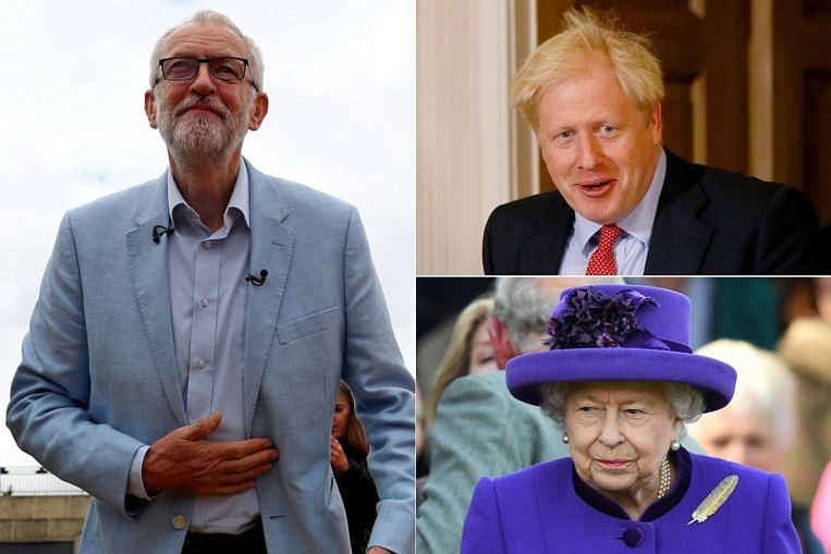 Labour's Corbyn to accuse PM Johnson of using Queen for ...