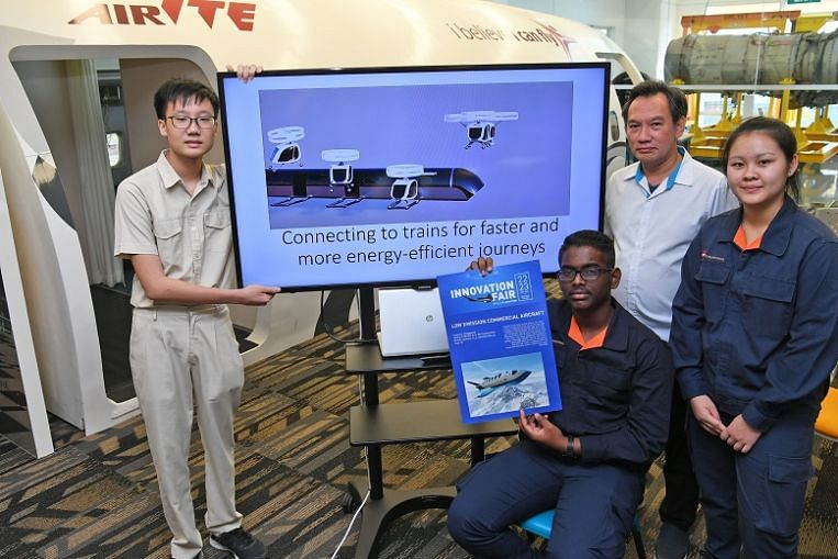 ITE students snag top prize in international aviation design competition