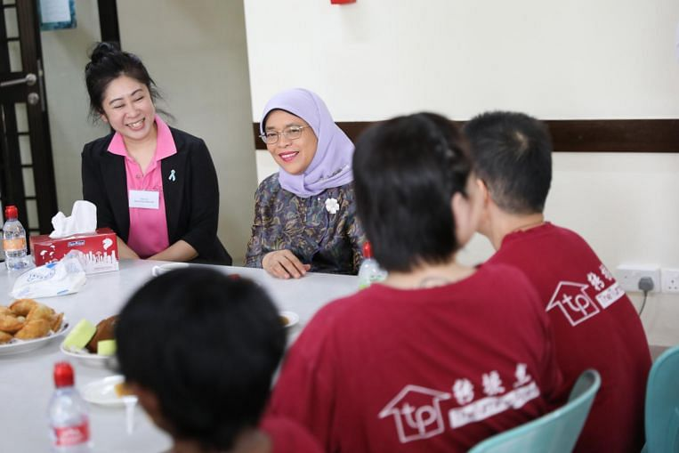 President Halimah calls for more to be done to deter drug abuse among females