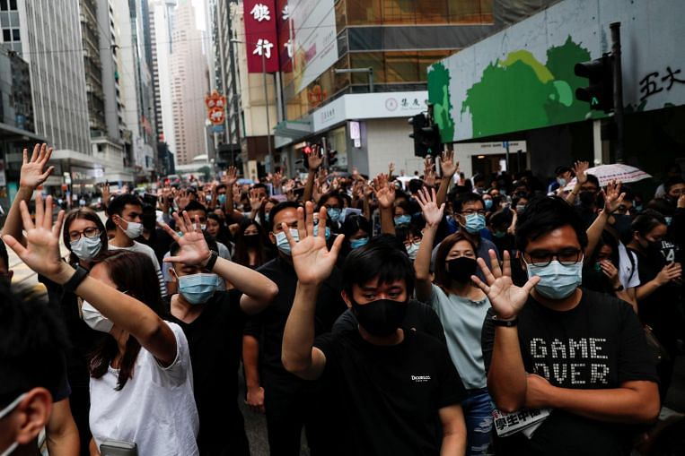 Hong Kong braces for weekend of fresh anti-government protests - The Straits Times